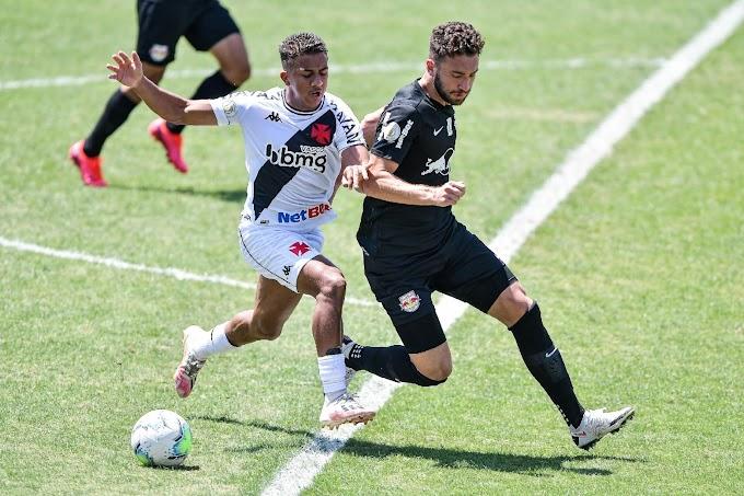 Vasco joga mal, empata com o Bragantino por 1 a 1 em São Januário e liga o sinal de alerta no Brasileirão