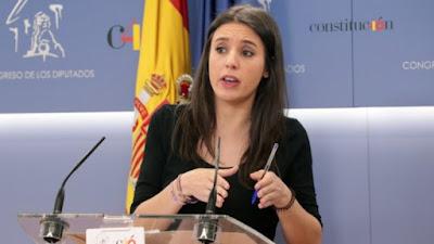 Irene Montero, POdemos, feminismo, asignatura, colegios, educación
