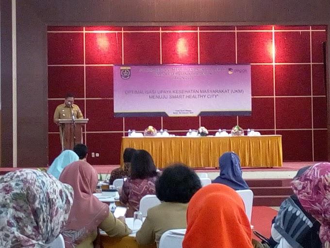 Pradi Buka Forum Renja Dinas Kesehatan