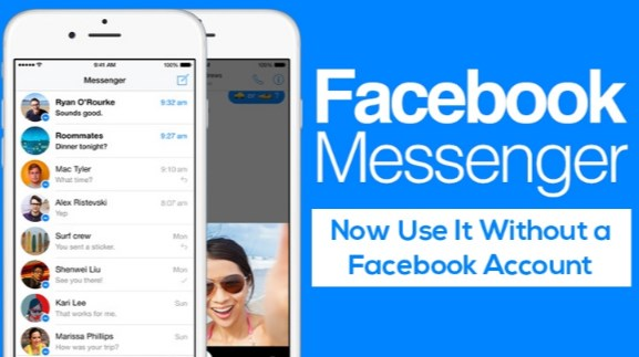 can i use messenger without facebook