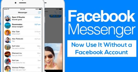 how to delete messenger account without facebook account