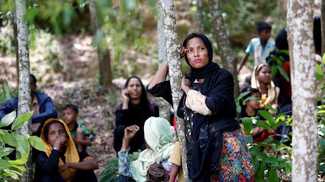 Bukan Hoax, Reuters Lansir 2.600 Rumah Muslim Rohingya Habis Dibakar