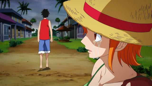 One Piece: Episodio de Nami: Kōkaishi no Namida to Nakama (1/1) (399MB) (HDL) (Sub Español) (Mega)