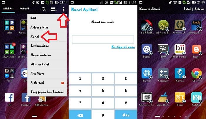 Cara Membuka Kunci Aplikasi Xiaomi Yang Lupa