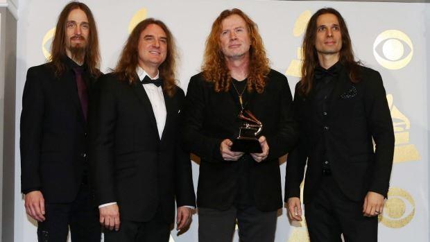 "MEGADETH: Κέρδισαν Grammy για το ""Dystopia"""