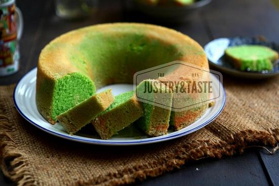 Pandan Cake Pound Recipe