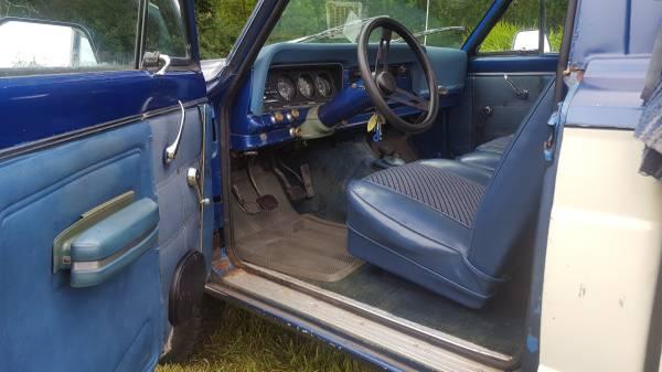1976 Jeep J10 4x4 PIckup Truck Levi Strauss Edition - 4x4 ...