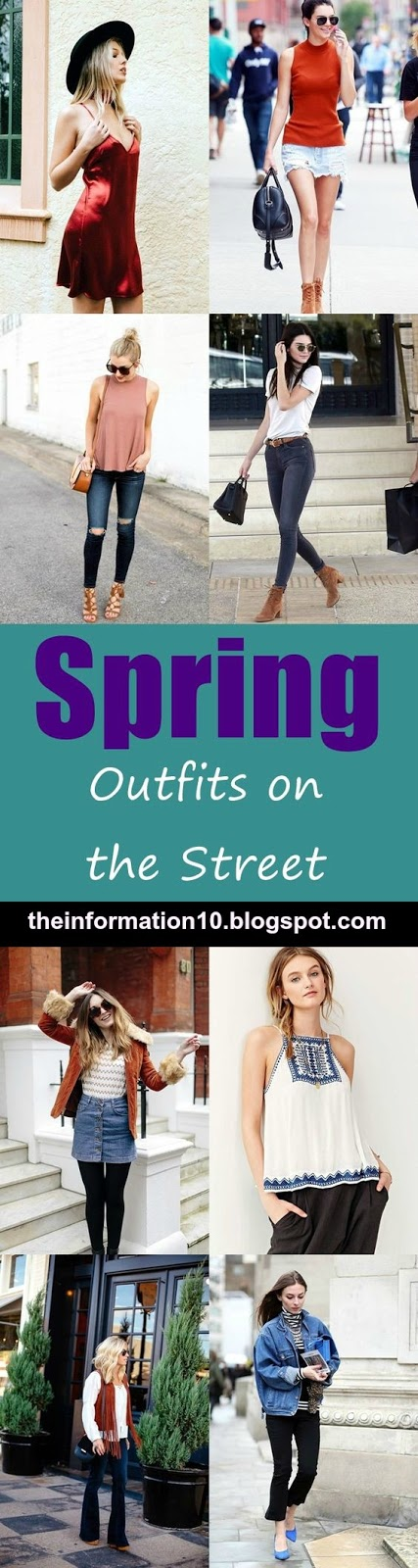 Trending Spring Outfits on the Street in 2017