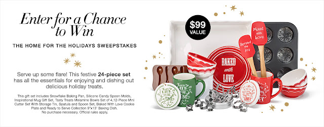Enter For A Chance To Win The Home for the Holidays Sweepstakes