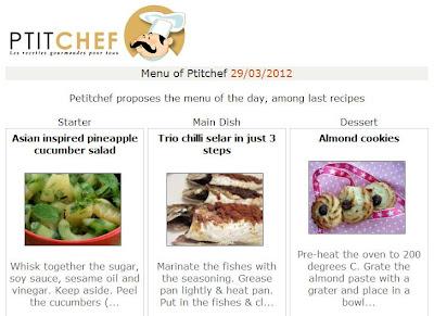 petitchef features happy call pan chilli fish recipe