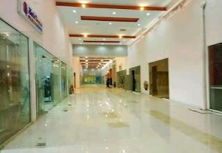 Flood Inside Osun Mall Due To Heavy Rainfall (Watch Video)