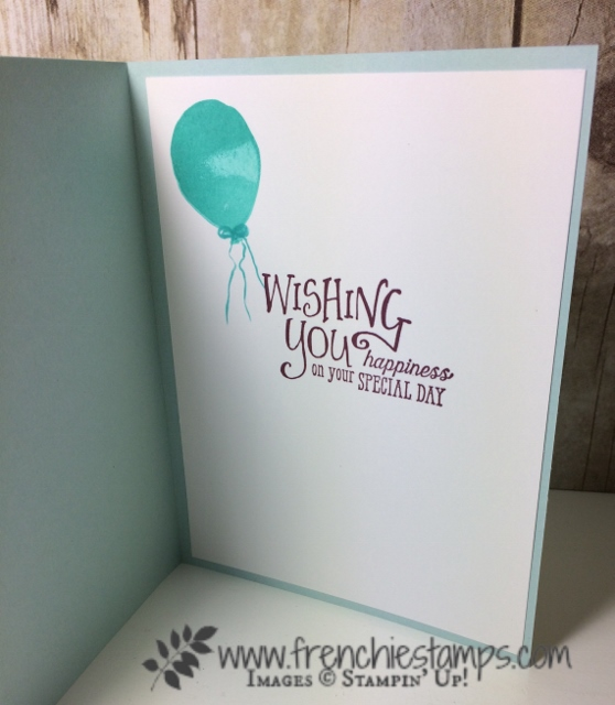 Ombree, Video, Adhesive sheet, Balloon Celebration, Better Together,  Stampin'Up!