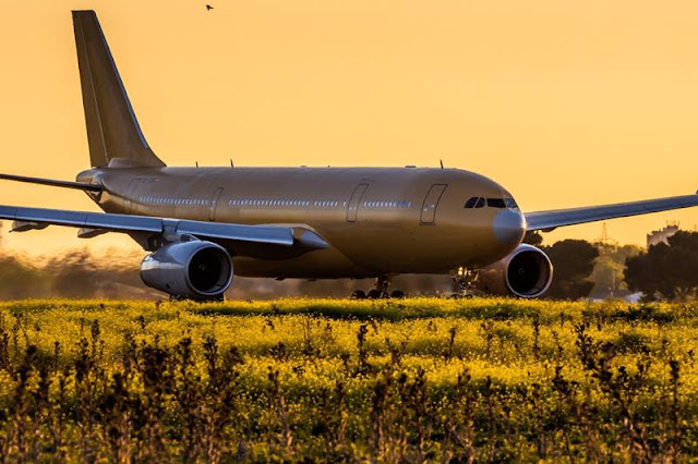 Airbus A330 delivers masks coronavirus