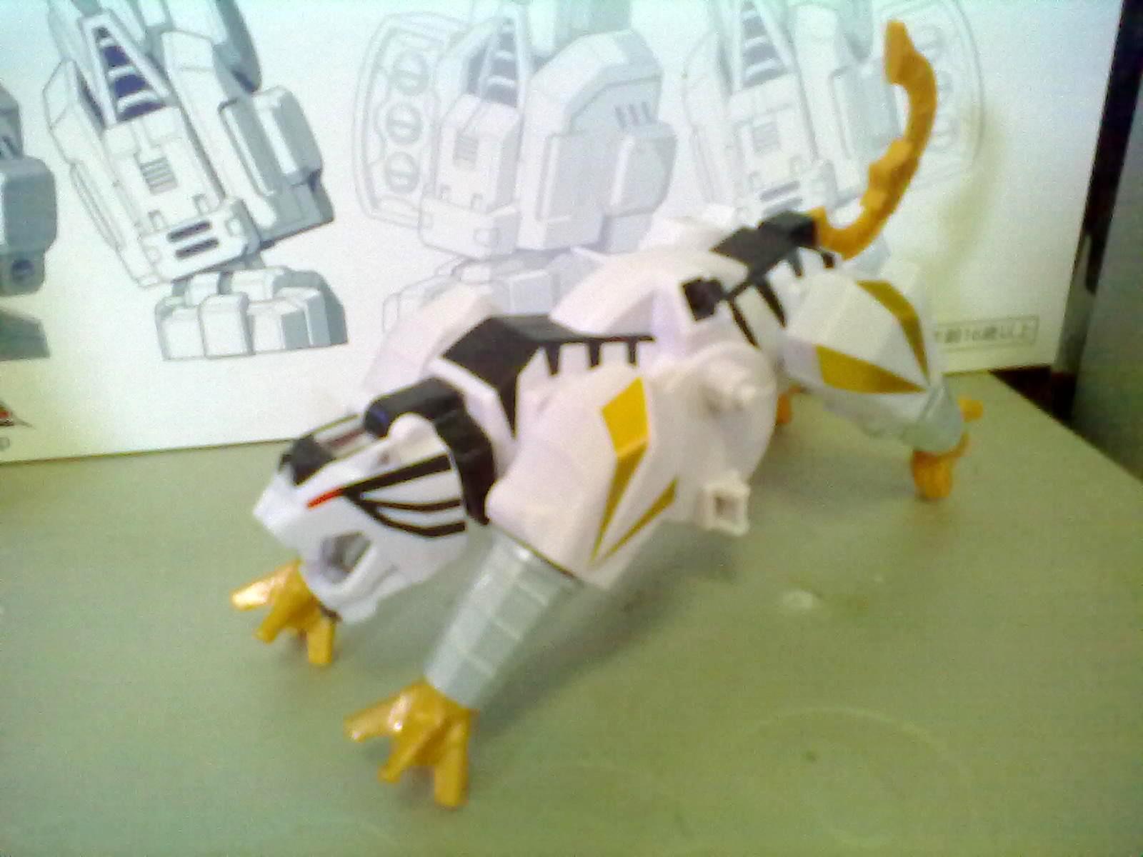 KINGKAIJU138: Power Rangers Samurai Tiger Folding Zord
