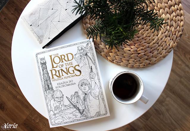 The Lord of the Rings. Trylogia filmowa. Książka do kolorowania - praca zbiorowa