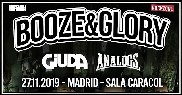 Booze and Glory en Madrid