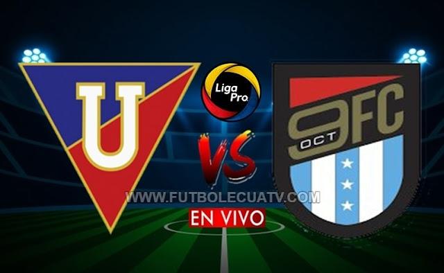 Liga de Quito vs 9 de Octubre EN VIVO [VER GOLTV ECUADOR] - Viernes 19 de Febrero - Partido Jornada 01