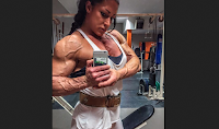 Too big Female bodybuilding