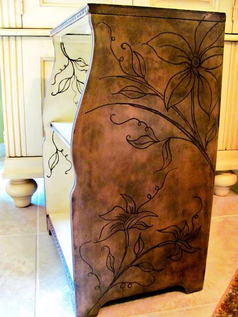 dremel designs on wood furniture