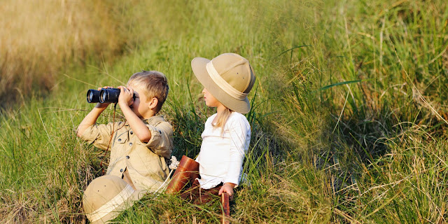 Children on Safari