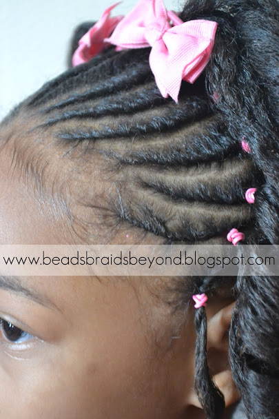 Incredible Beads Braids And Beyond Little Girls Natural Hairstyle Flexi Short Hairstyles For Black Women Fulllsitofus