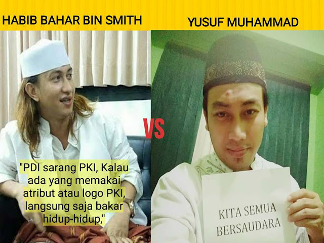 Tantangan Netizen untuk Habib yang Menyuruh Bakar orang yang Memakai Atribut PKI, Bacanya Bikin Merinding