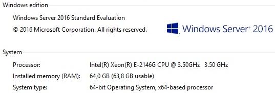 Intel® Xeon® E-2146G