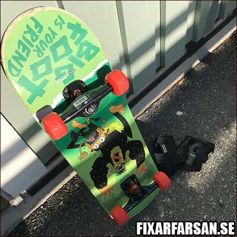 Skateboard-Motiv
