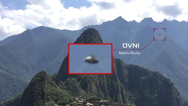 OVNI aparece sobre el antiguo sitio inca de Machu Picchu, Perú