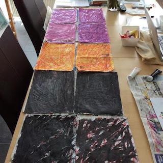 papieren kralen maken