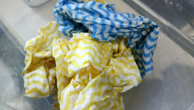 tisu dapur serbaguna - reusable tissue