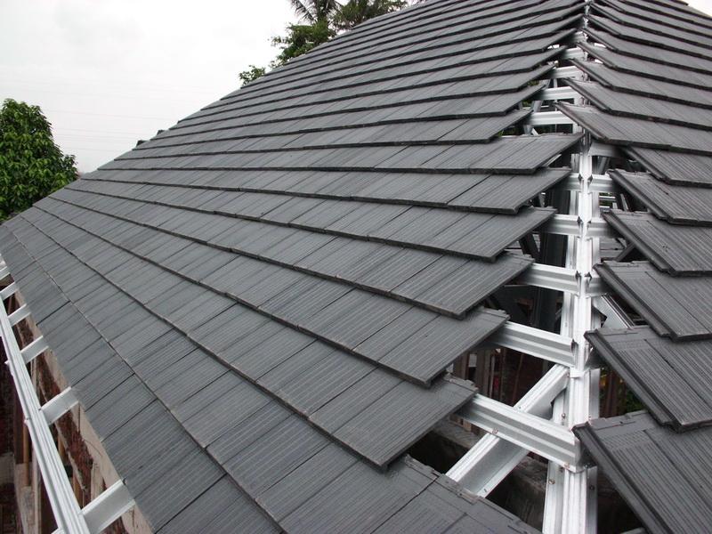 Kemiringan Atap Rumah Tinggal Sesuai Bahan microgist