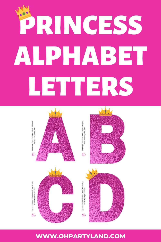 princess-alphabet