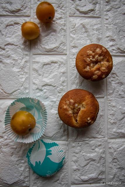 ricetta dei muffins con susine