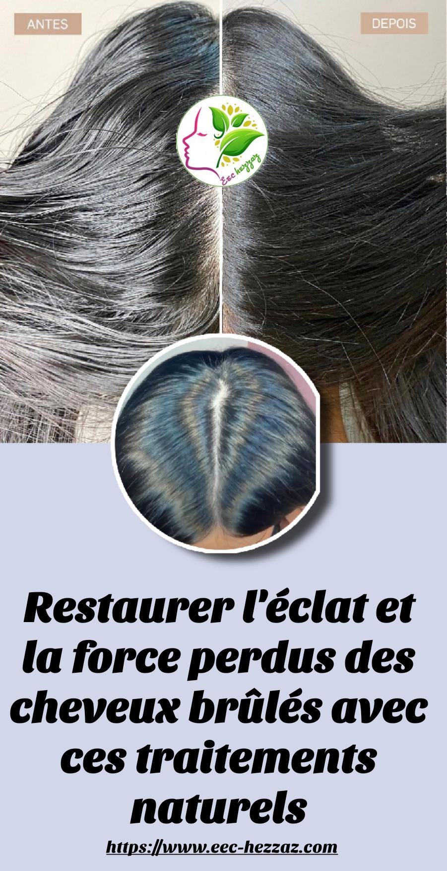 Restaurer l'éclat et la force perdus des cheveux brûlés avec ces traitements naturels