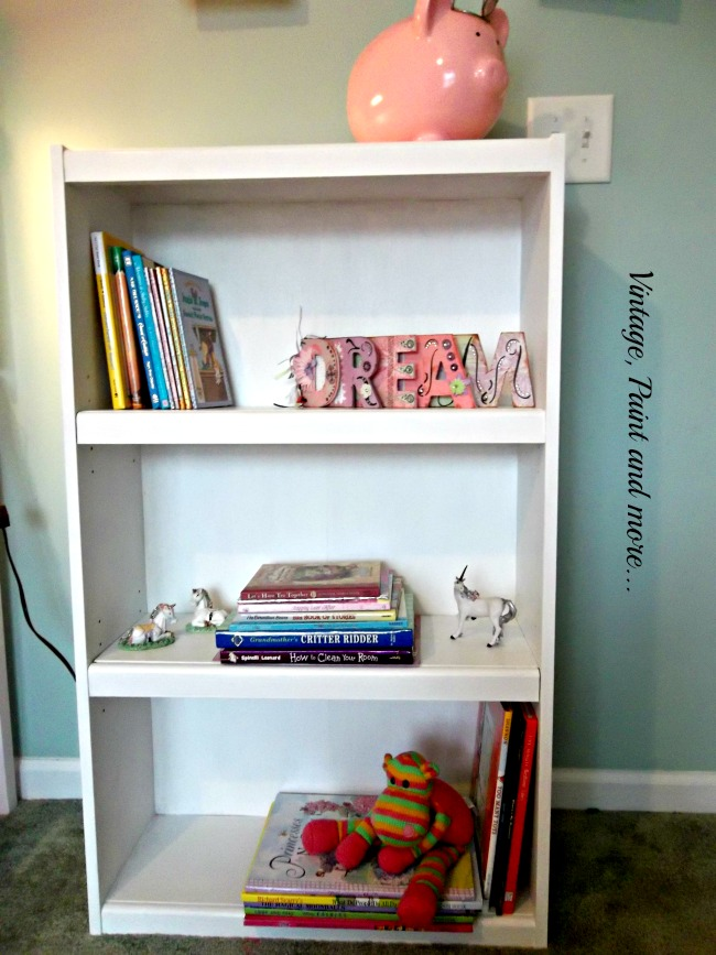 Vintage, Paint and more... upcycled book case painted