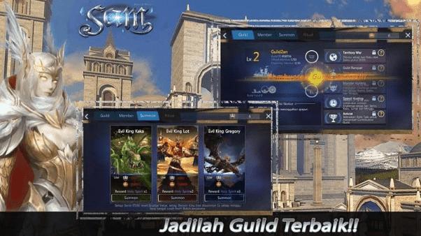 MMORPG TERBAIK  SAM SWORD AND MAGIC