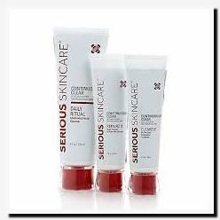 serious skin care products for acne