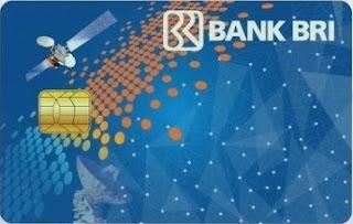 Gambar Kartu ATM BRI Simpedes - kartu atm BRI Biru