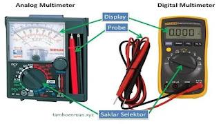 Cara Menggunakan Multimeter/Multitester