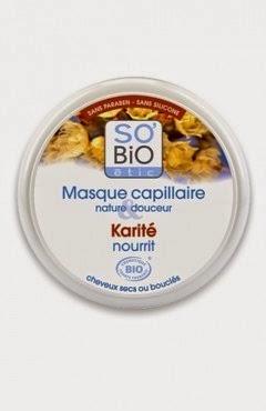 [So Bio étic] Masque capillaire au karité