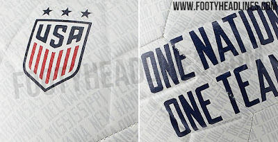 9fb0d8514 CONFIRMED  USA 2019 Women s World Cup Home Kit to Feature All 50 State Names