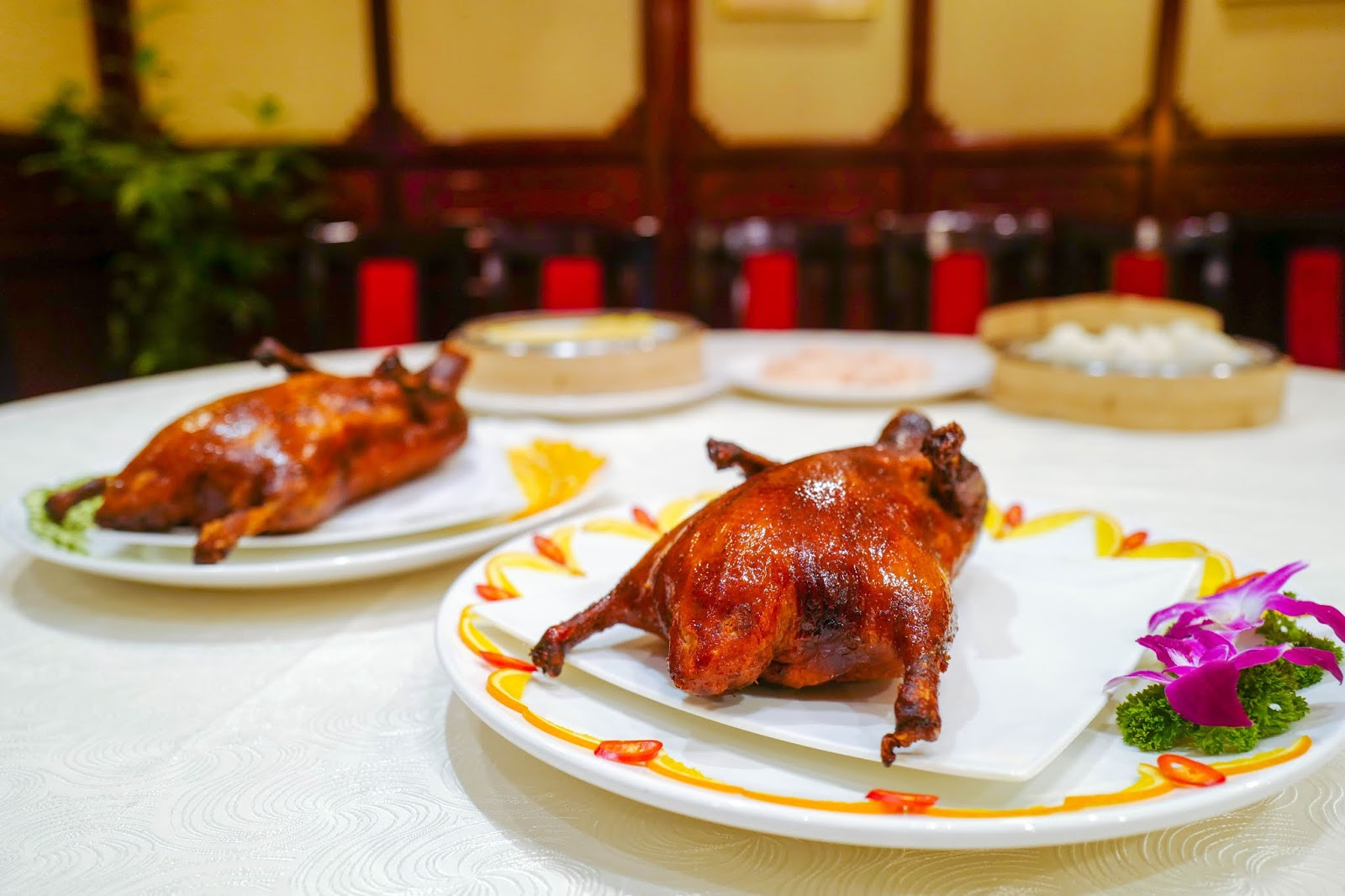 Ming Palace, Corus Hotel: London Roast & Peking Duck