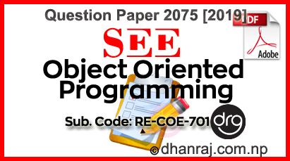 Object-Oriented-Programming-Question-Paper-2075-2019-RE-COE701-SEE-DOWNLOAD