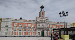 Torrejón de Ardoz, Parque Europa. La Puerta del Sol de Madrid.