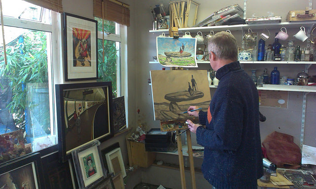 Art classes south Dublin Learn paint in oils alla prima
