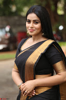 Poorna in Cute Backless Choli Saree Stunning Beauty at Avantika Movie platinum Disc Function ~  Exclusive 081.JPG