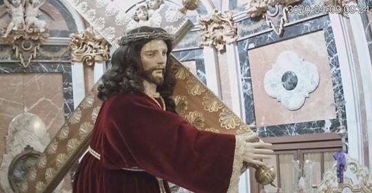 Bendición en Directo del Nazareno de Priego de Córdoba