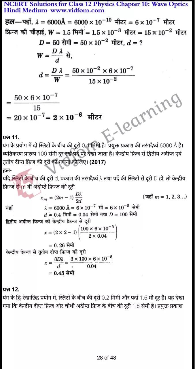 class 12 physics chapter 10 light hindi medium 28