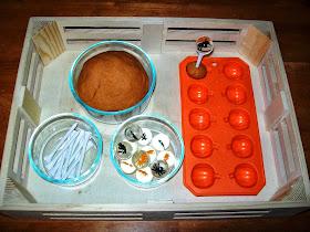 Halloween Play Dough Fine Motor Activity
